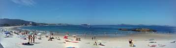 Vigo, la mejor temperatura de España en Verano.
