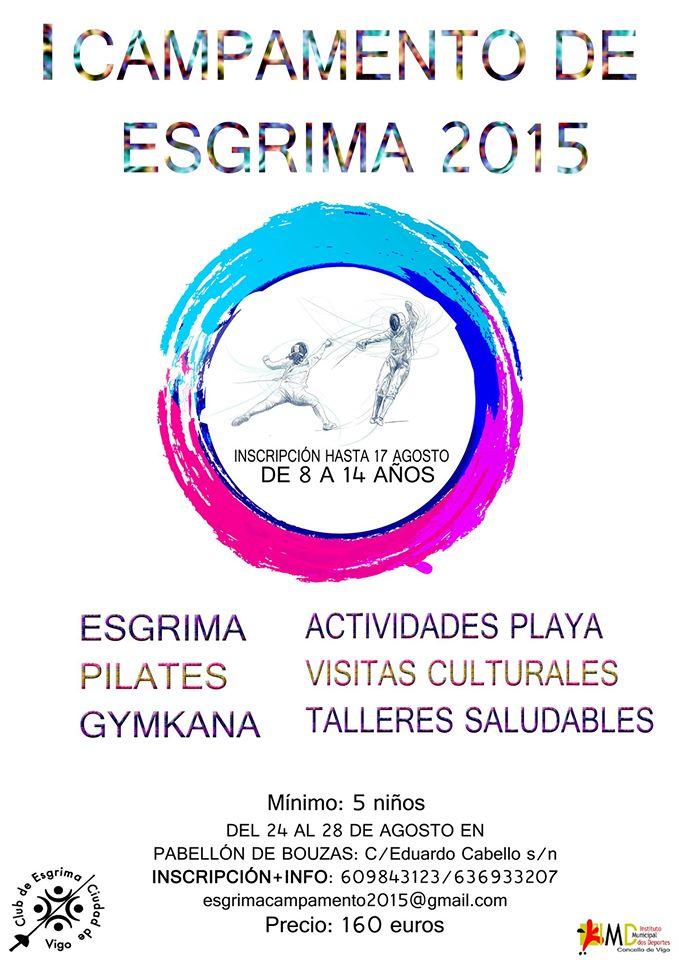 I Campamento de Esgrima en Vigo