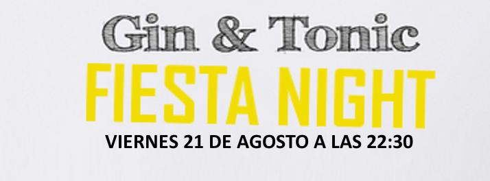 Fiesta Gin & Tonic en Samil