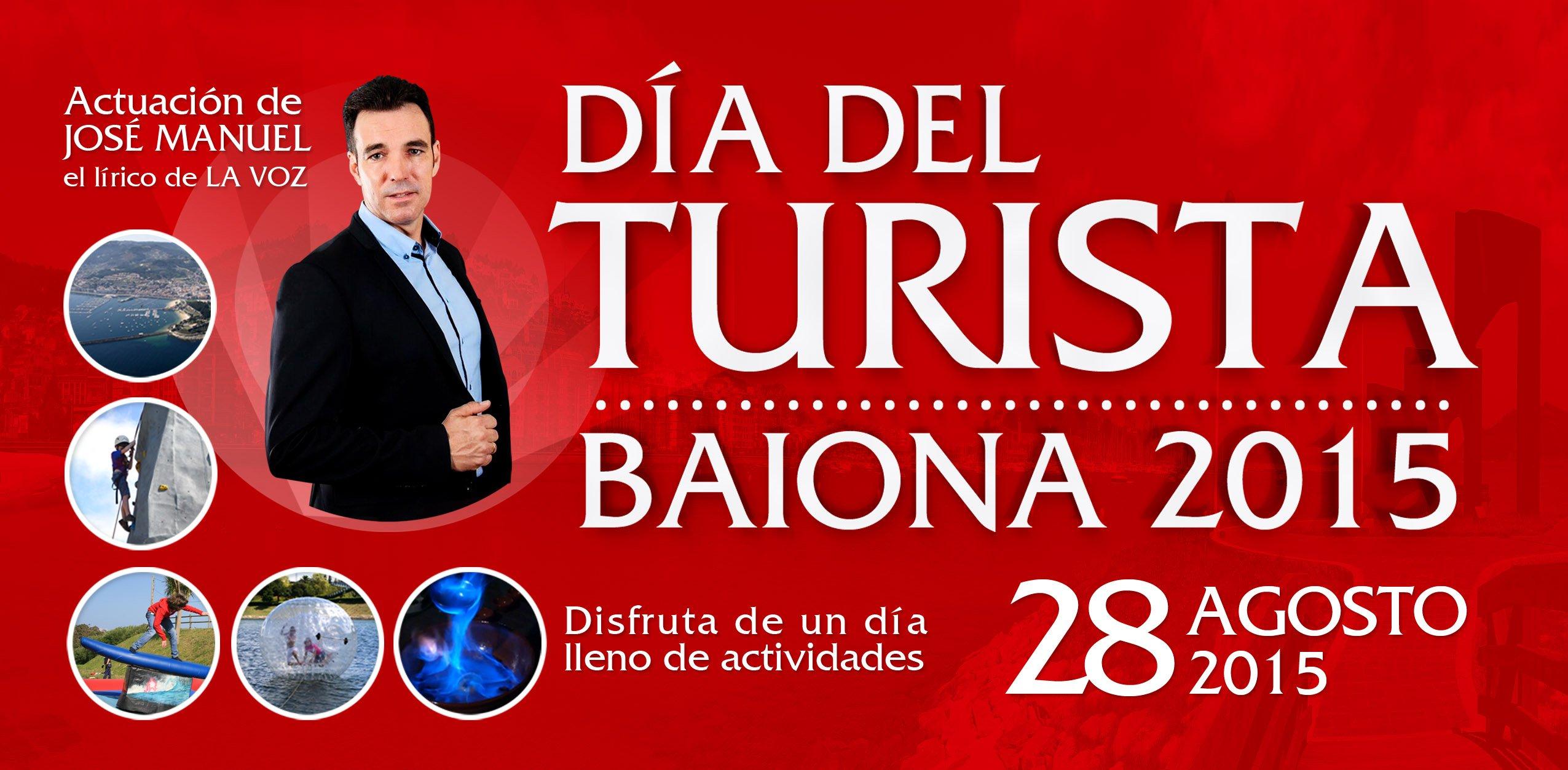 Día del Turista de Baiona 2015