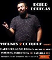 Monólogo de Rober Bodegas en Barrocco Vigo
