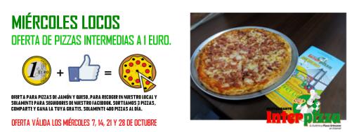 Pizzas por 1 Euro