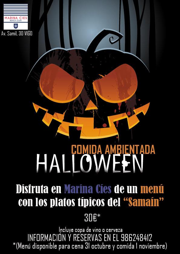Halloween en Marina Cíes