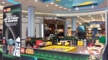 El universo STAR WARS de LEGO® en Gran Vía de Vigo