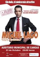 Miguel Lago en Cangas