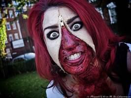 Ideas disfraces halloween. El truco está en el maquillaje.
