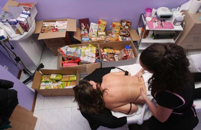 Masaje de espalda solidario a cambio de 1kg de Comida