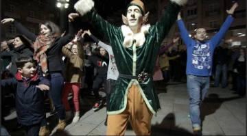 Flashmob de Príncipe Navidad 2015