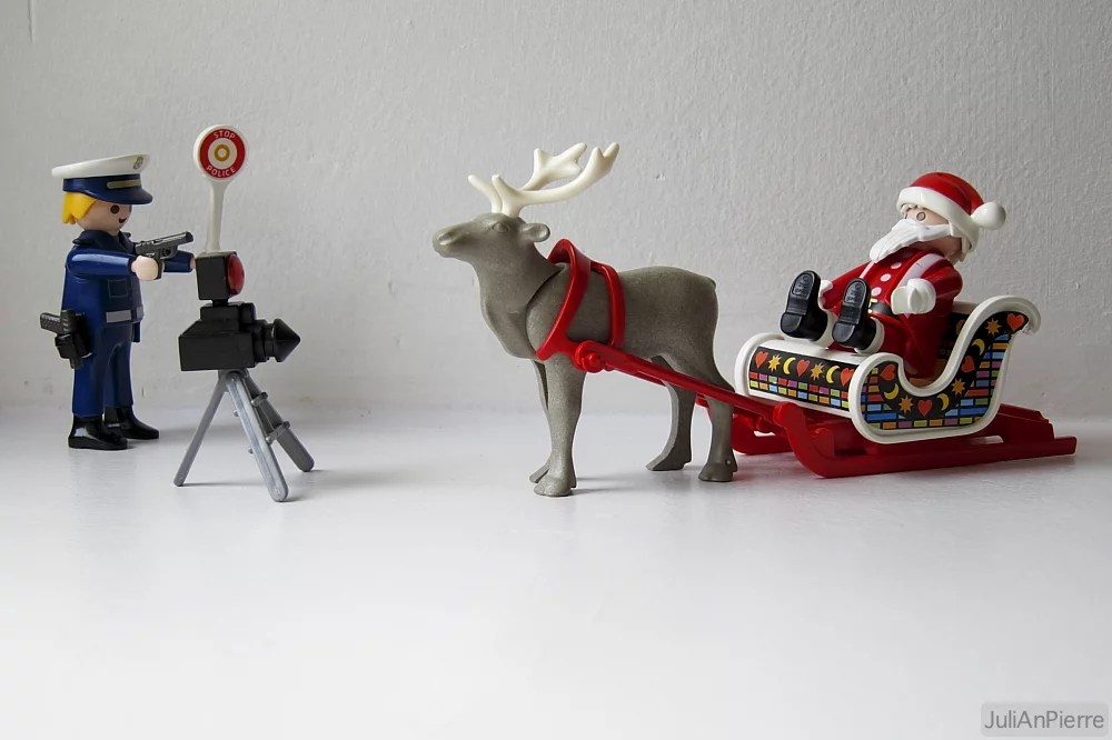 Papá Noel viaja en VITRASA