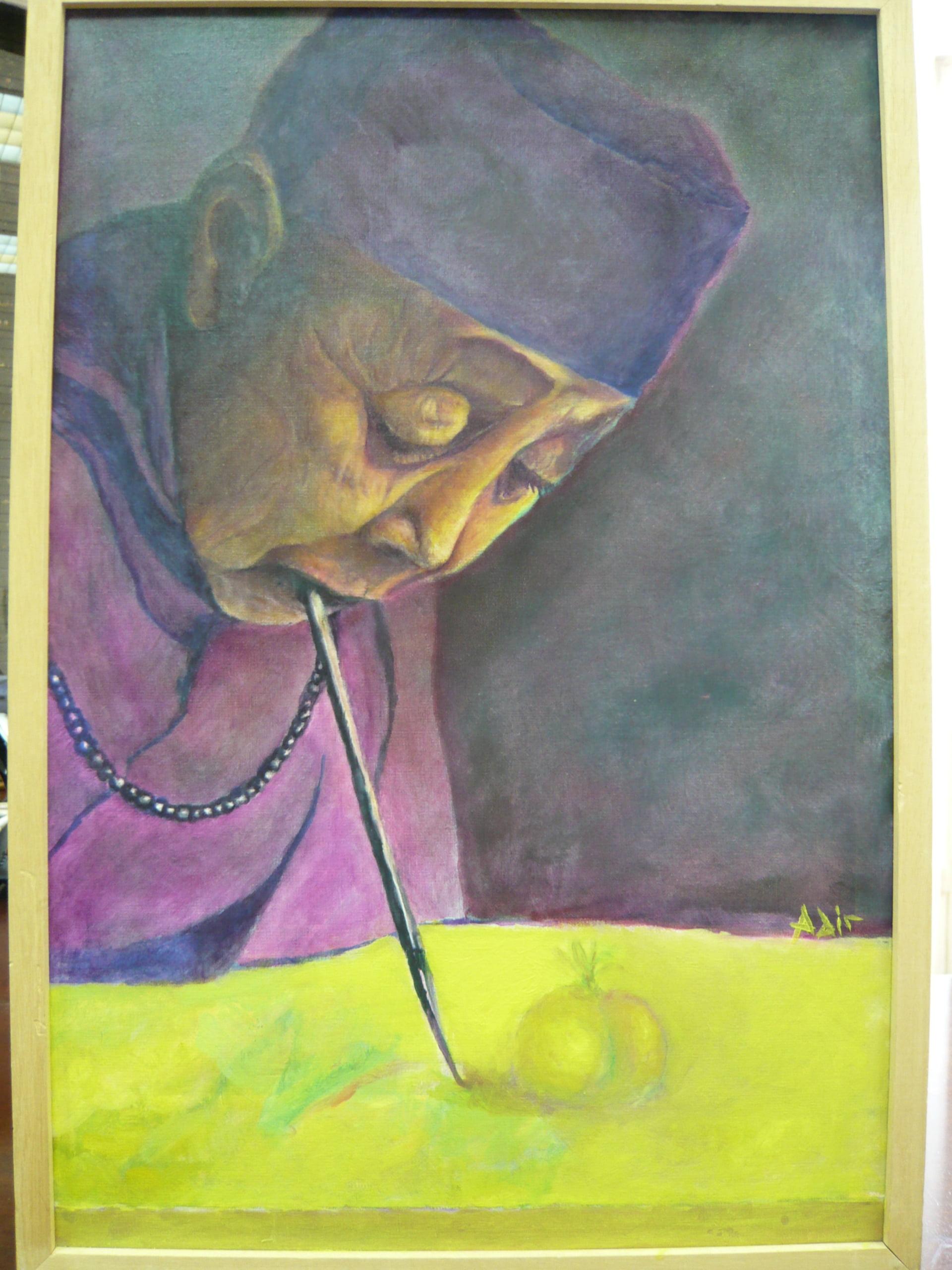 Con la Boca y con el Pie: Exposición Internacional de Pintura