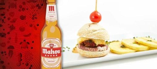 Hugos's. Mini hamburguesa gallega. (c/ Teixugueiras 16)