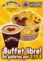 Biscuits Galicia: Buffet libre de galletas