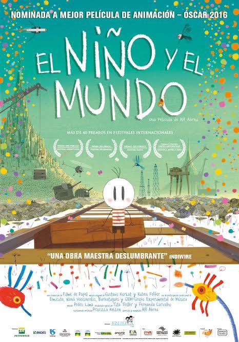 """""""El niño y el mundo"""" en Vigo – nominada Óscar – Multicines Norte"""