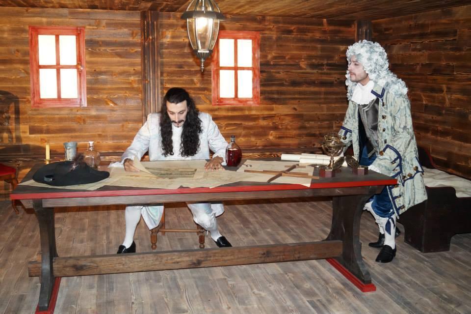 Visitas teatralizadas no museo Meirande