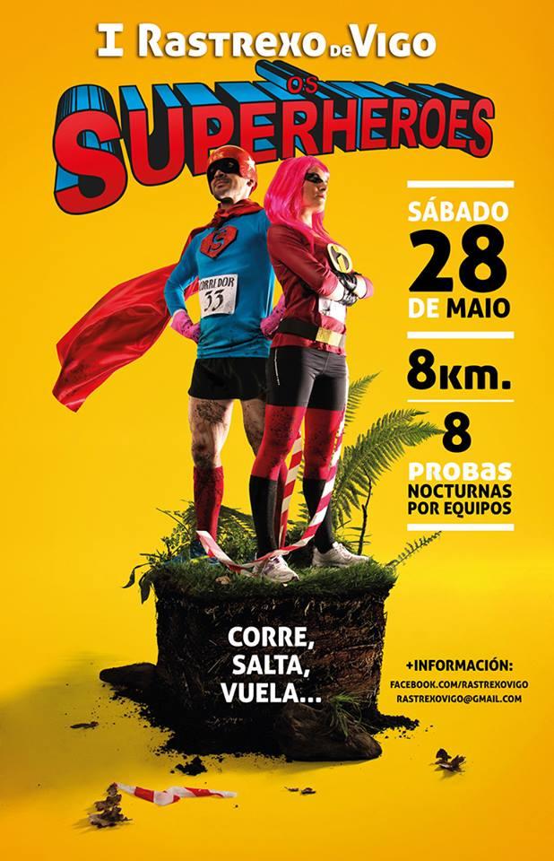 Rastrexo de Vigo: Os Superheroes