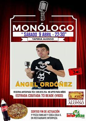 Monólogo de Angel Ordónez