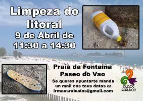 Voluntariado: Limpeza Praia do Vao