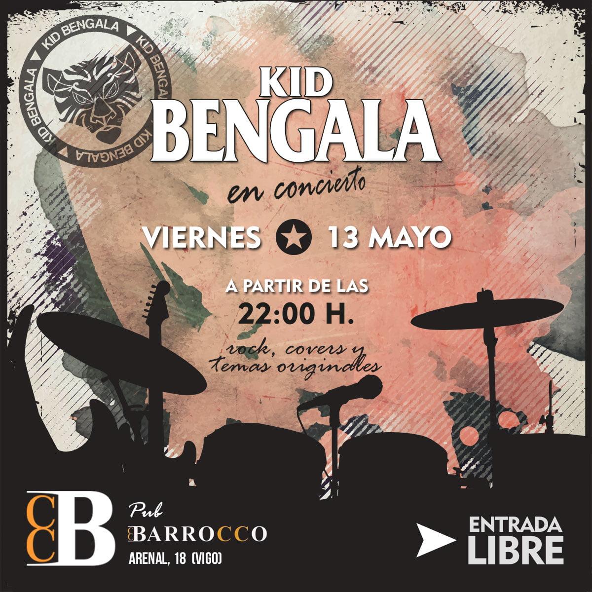 Kid Bengala en Vigo