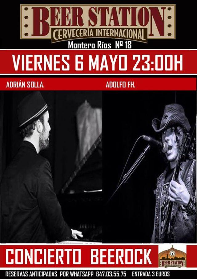 Adolfo FH y Adrián Solla