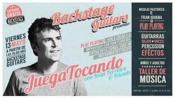 Juega Tocando, taller de música con Iván Ferreiro & Friends