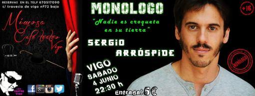 Monólogo de Sergio Arróspide