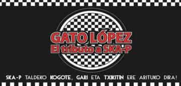 Concierto Gato López banda tributo de SKA-P