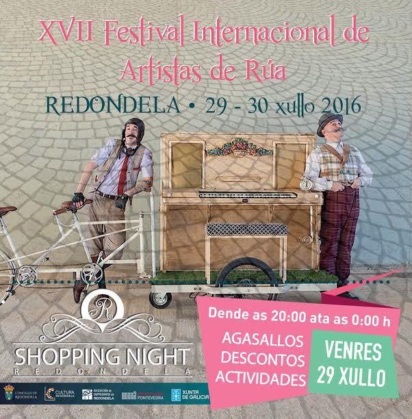 Shopping night en Redondela