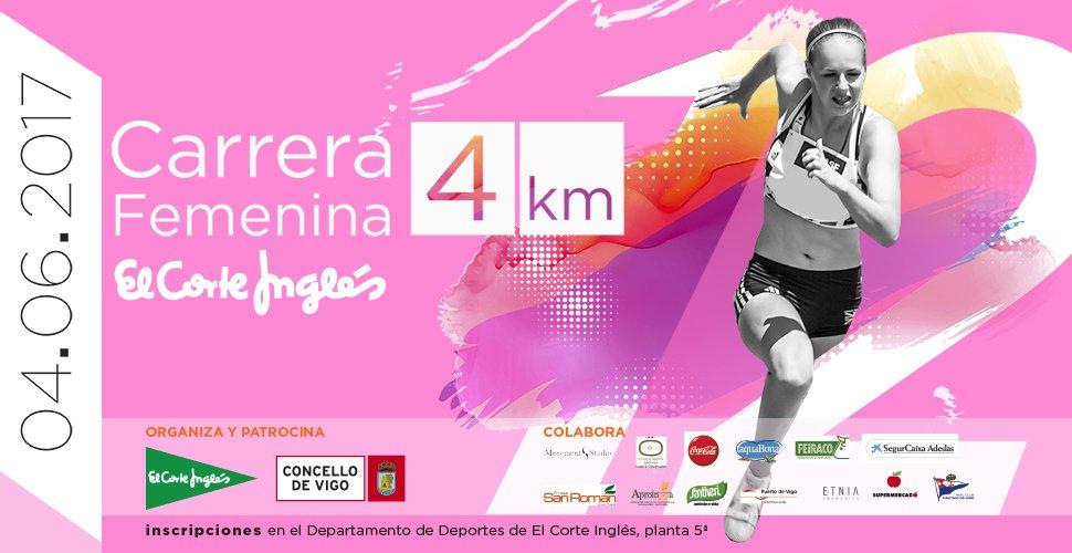 XII Carrera Femenina de Vigo 2017 – El Corte Inglés
