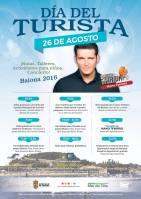 Día del turista en Baiona 2016 con Manu Tenorio