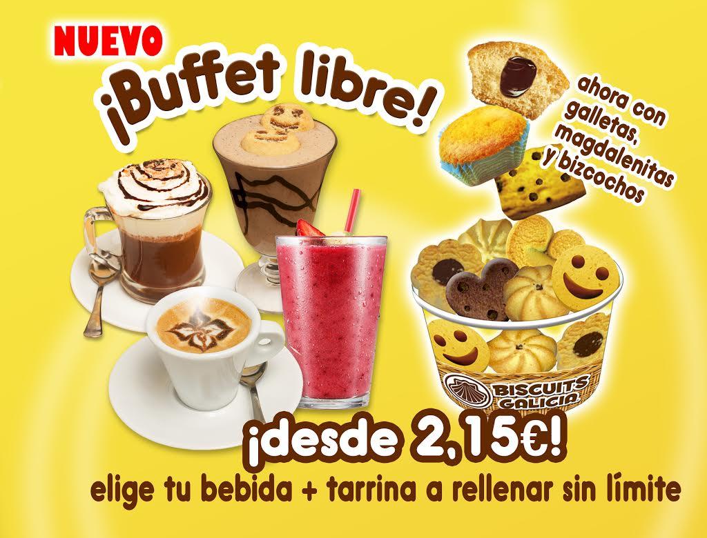 Septiembre: Buffet libre de galletas y sorteo de regalos en Biscuits Galicia