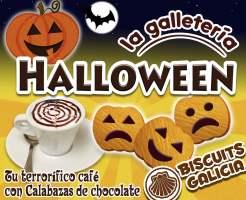 Octubre: Mes de Halloween en La Galletería Biscuits Galicia