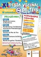 XI Festa Veciñal de Teis 2016