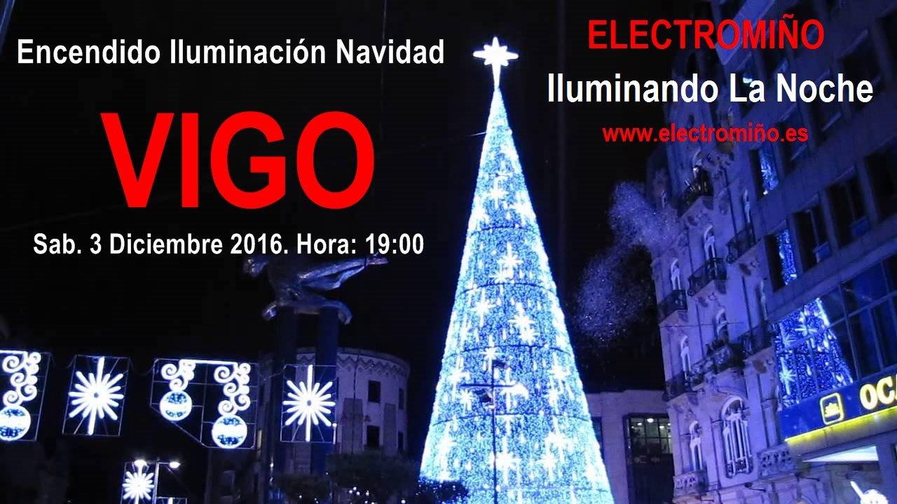 Vigo Encendido Iluminación de Navidad 2016
