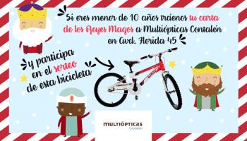Multiópticas Contalén sortea bicicleta