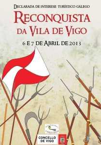 Cartel de la Reconquista de Vigo 2013