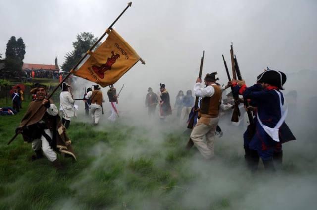 Fiesta histórica Arde O Pazo