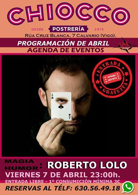 Noche de Magia con Roberto Lolo