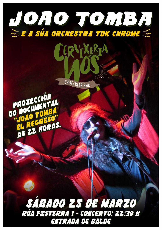 Joao Tomba (proxección documental e concerto)