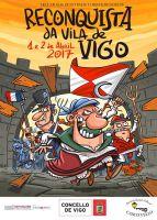 Cartel de la Reconquista de Vigo 2017