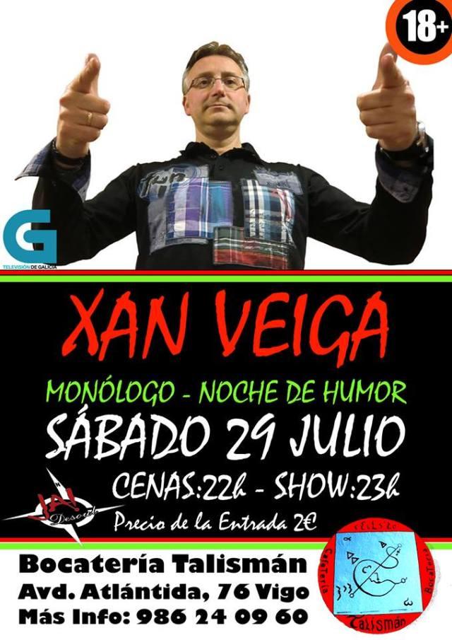 Monólogo de Xan Veiga en Vigo