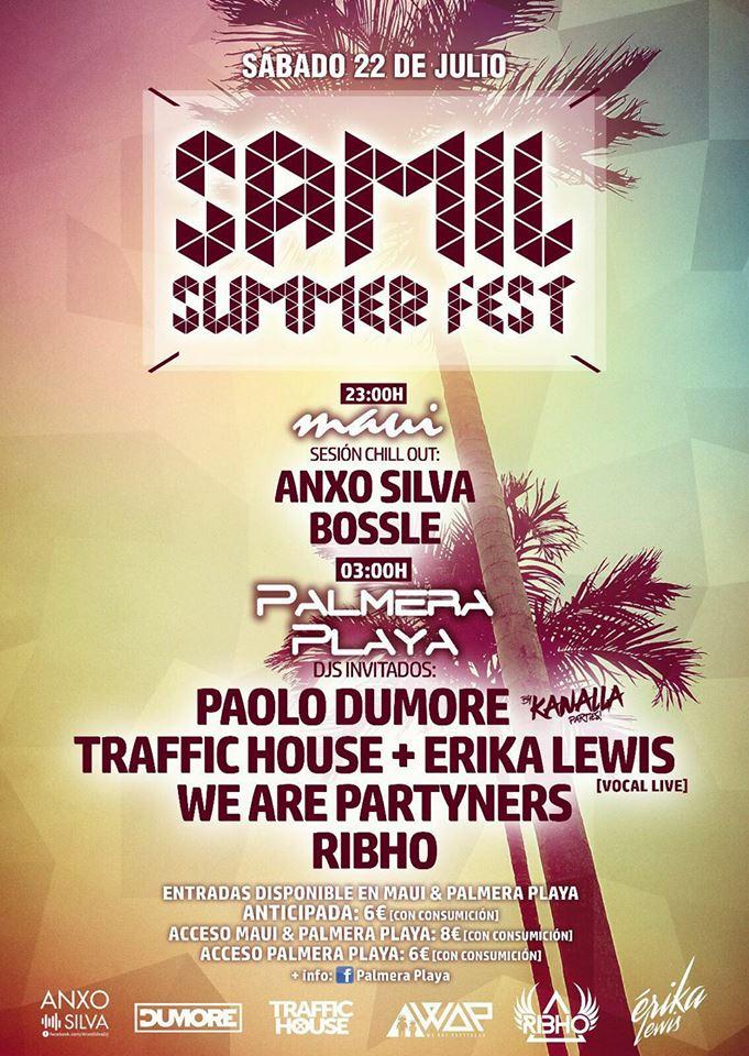 Samil Summer Fest, la fiesta del Verano!