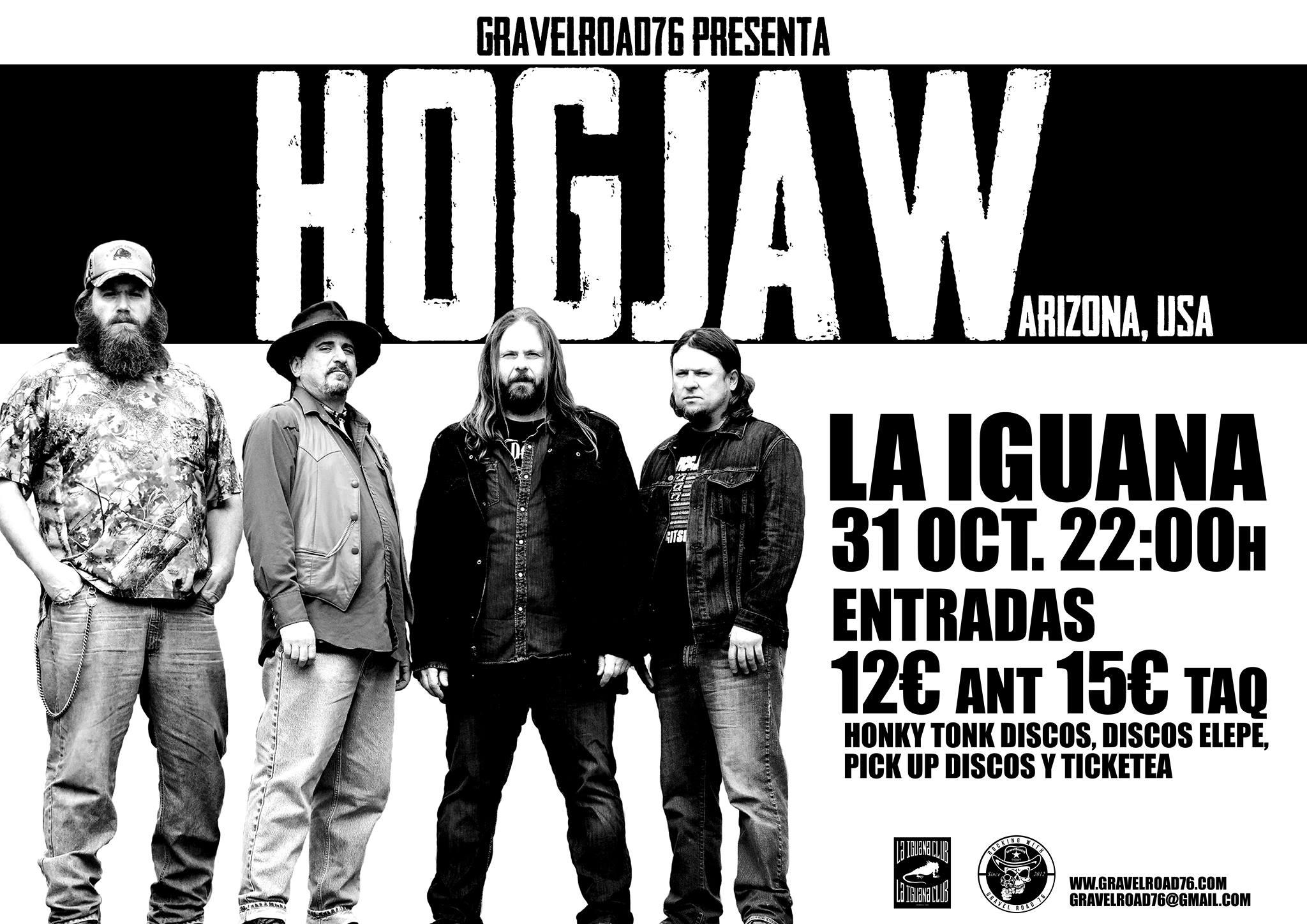 Concierto HOGJAW (Arizona) la noche de Halloween