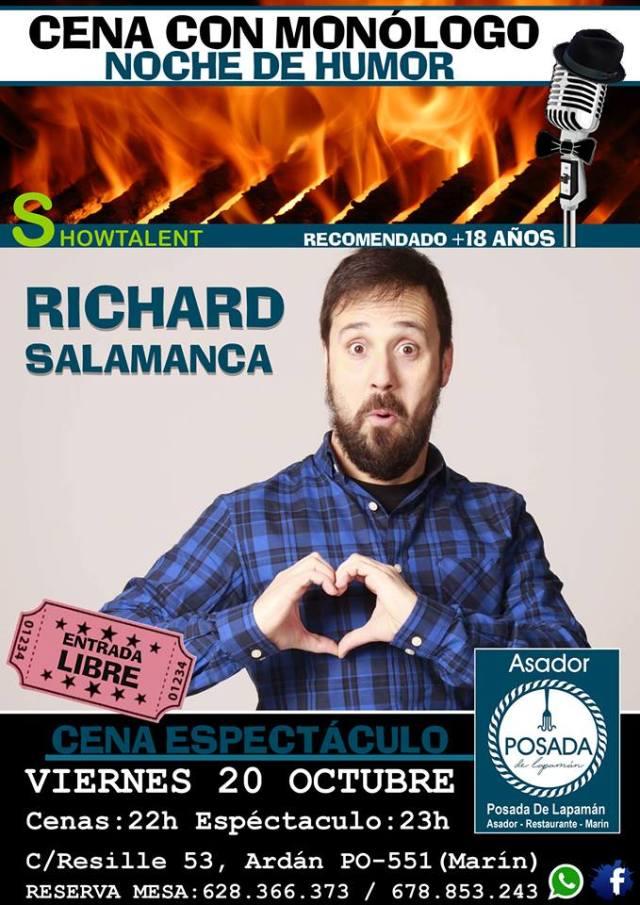 Monólogo de Richard Salamanca