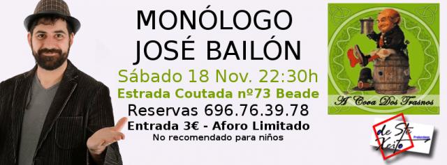Monólogo de José Bailón