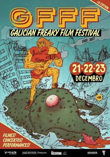 Galician Freaky Film Festival 2017
