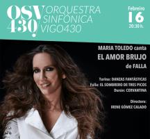 María Toledo canta El Amor Brujo de Falla