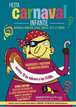 Carnaval Infantil Liceo Marítimo de Bouzas