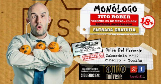 Monólogo con Tito Rober en Tomiño