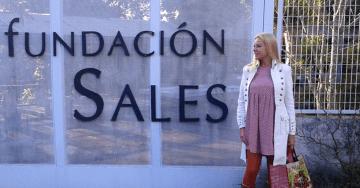Desfile en la Fundación Sales