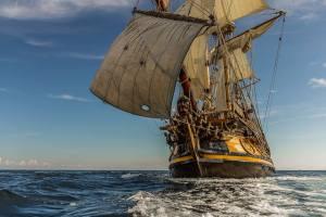 Visita de la Fragata Shtandart 2018 | Vigo
